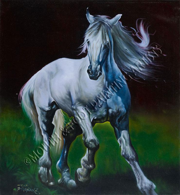 White Throughbred
