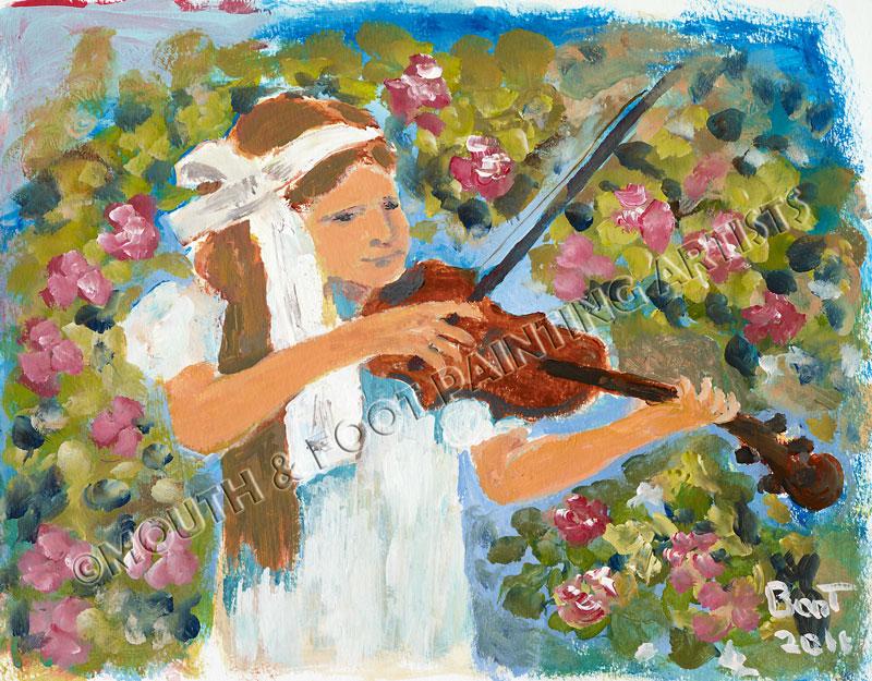 Girl & the Violin