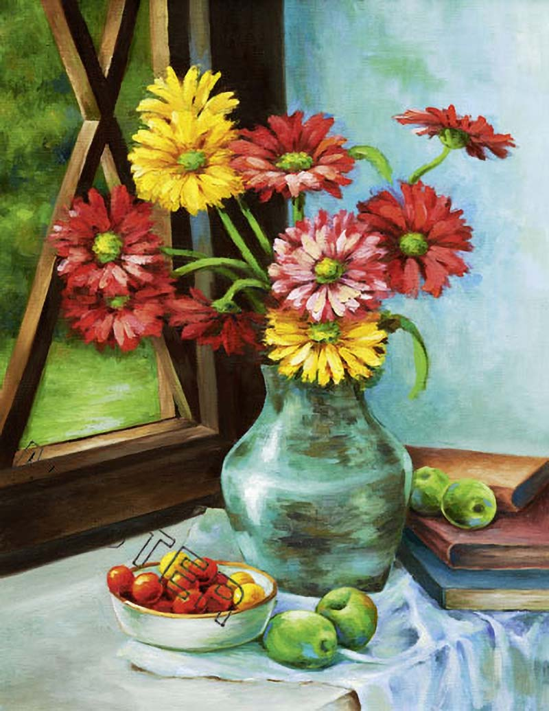 A flower painting