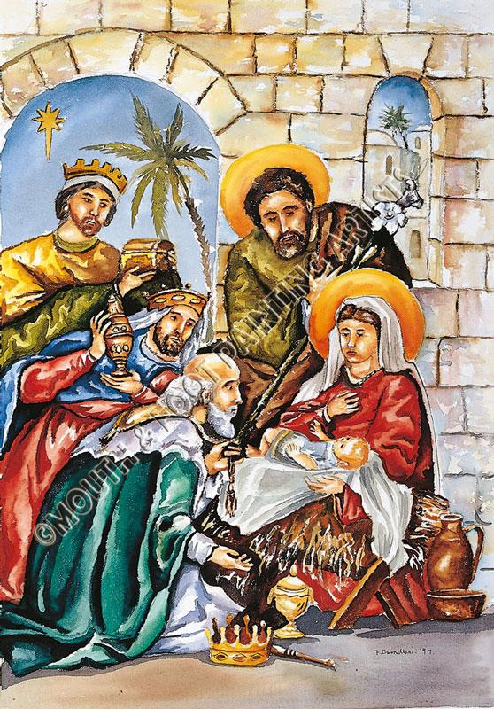 Three Kings & Baby Jesus