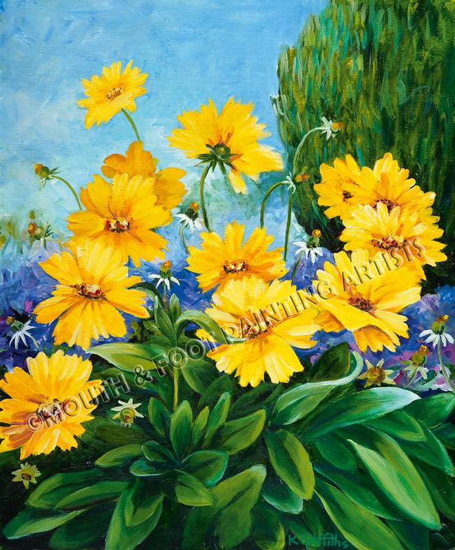 Chrome Yellow Flowers