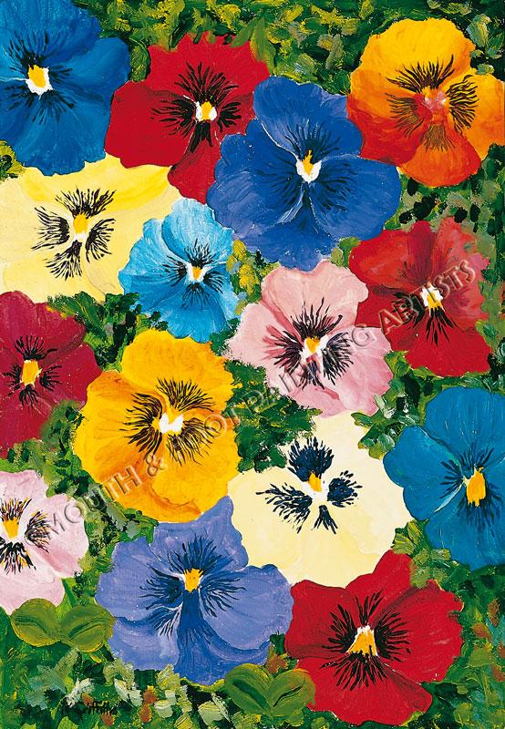 Postcard of Flowers