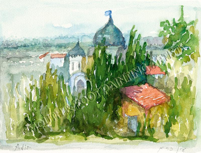 Paints on Canvas