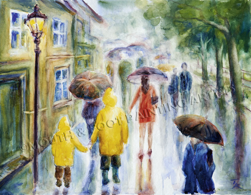 Regenszenerie