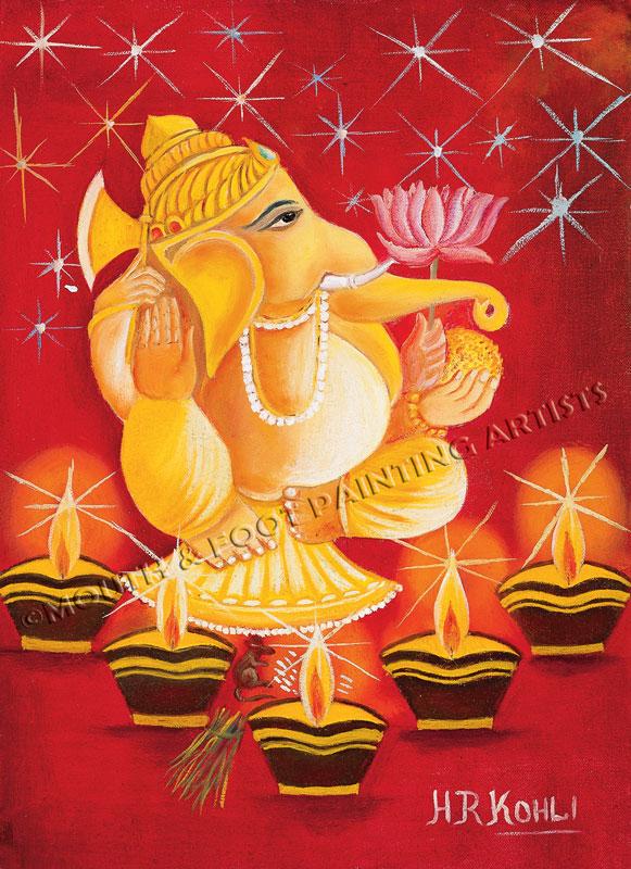 Ganesha God Of Prosperity