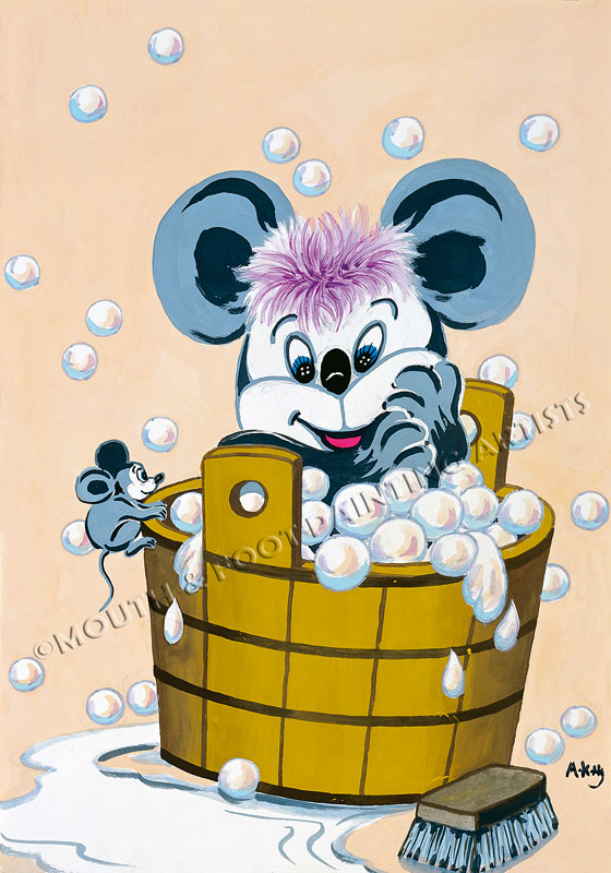 Mickey & Soap suds