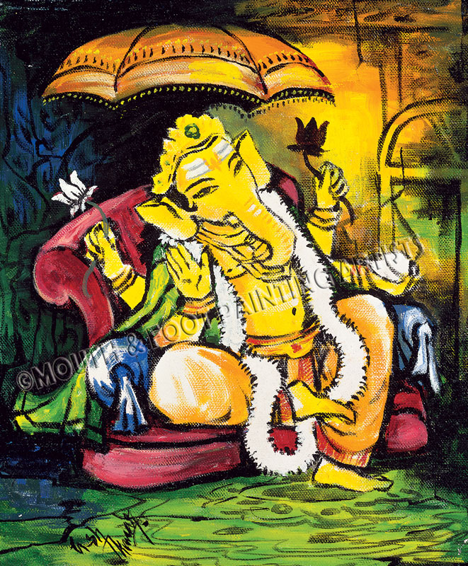 Ganesha in Repose