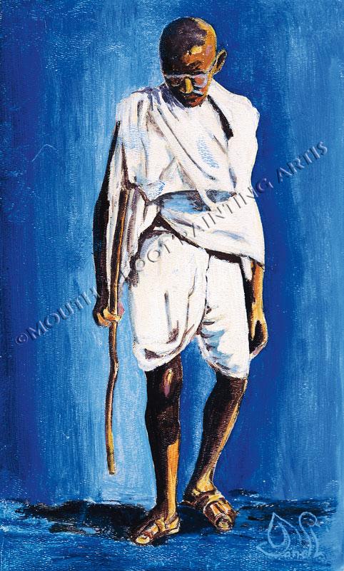 Contemplative Gandhiji