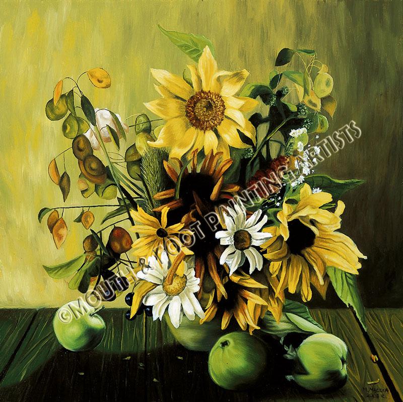 Sunflowers n Apples