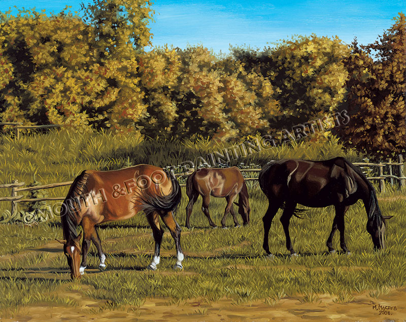 Tranquil Grazing