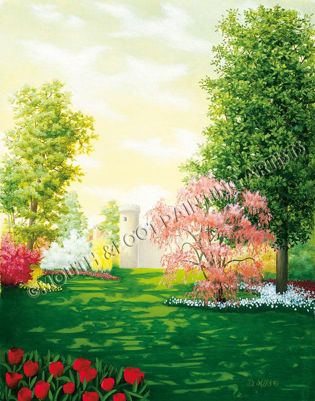 Mannicured Garden