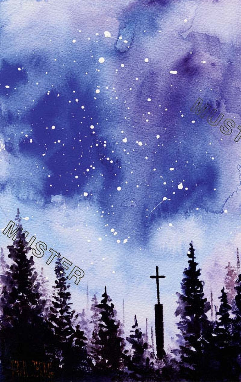On a starry night – I