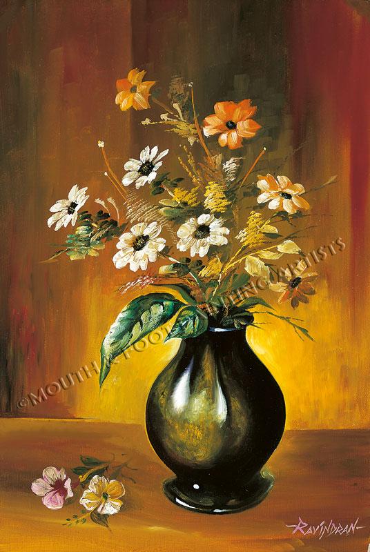 Vase of Gerberas