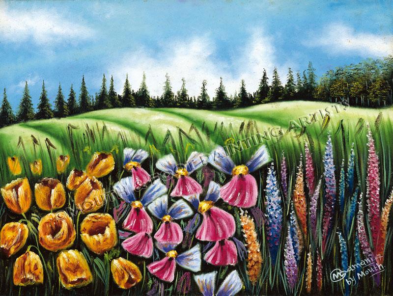 Fields of Flowers n Grains