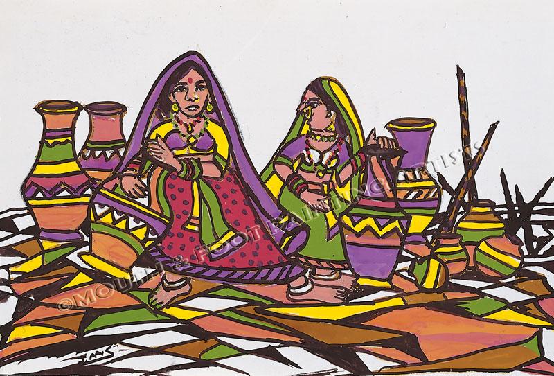 Tribal Women & their Wares