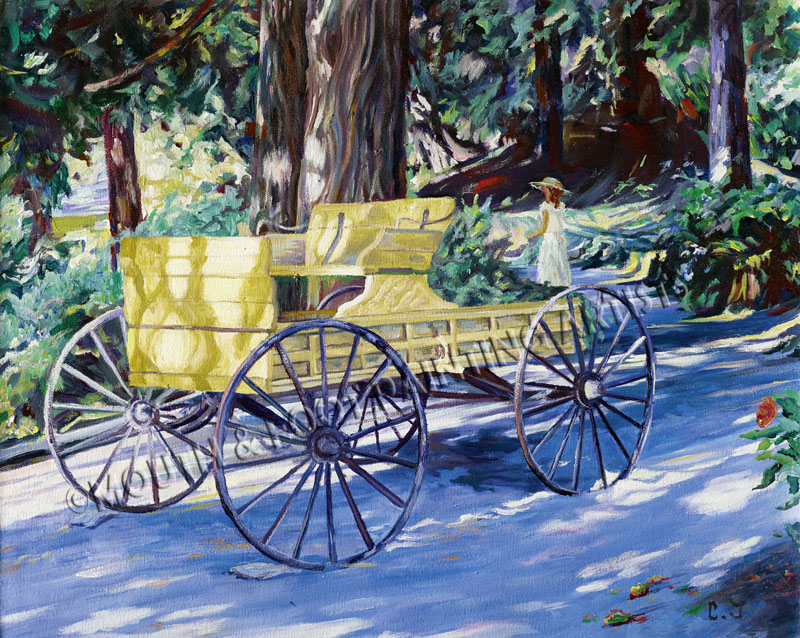 Minter wagon