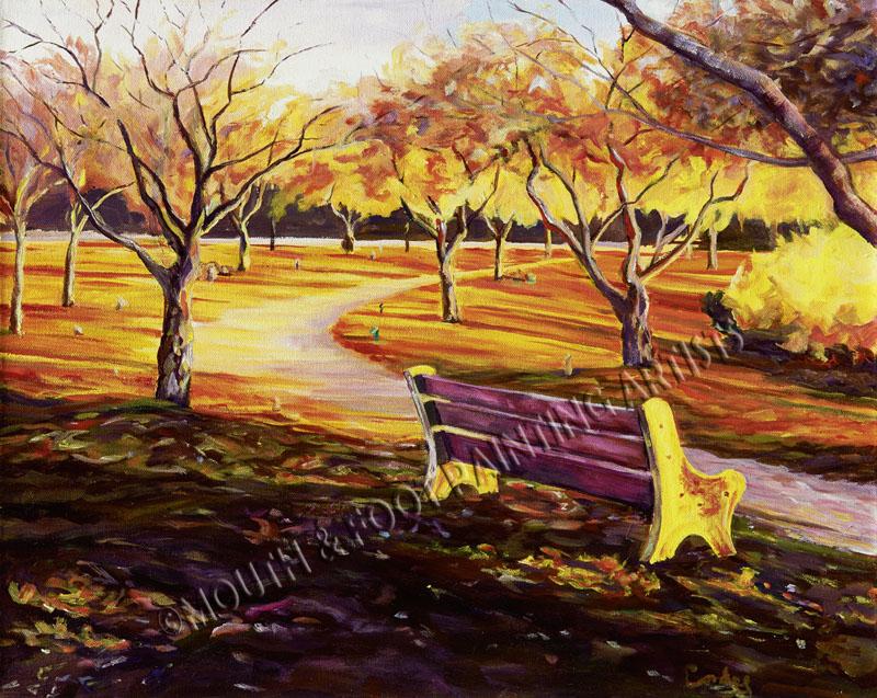 Derick's bench walk