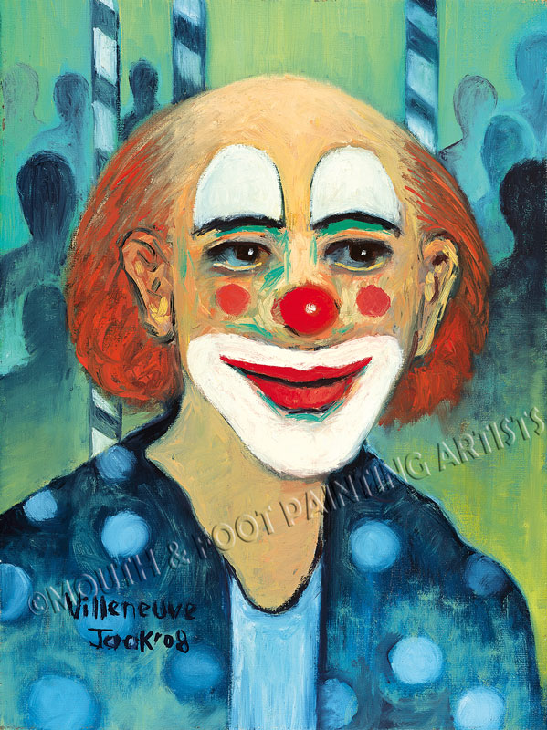 Bald Clown
