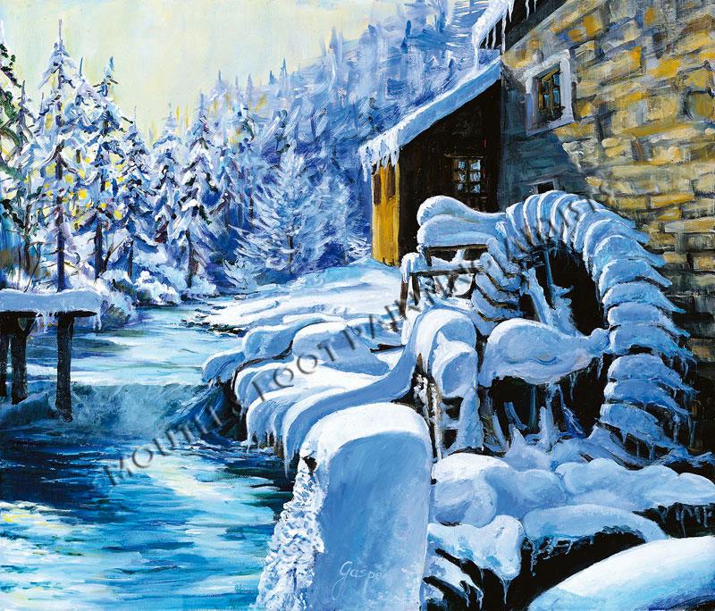 Frozen Alps