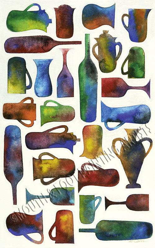 Abstract Jugs