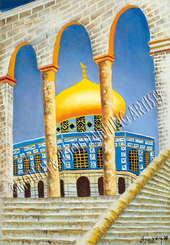 Gates Of the Golden Minar