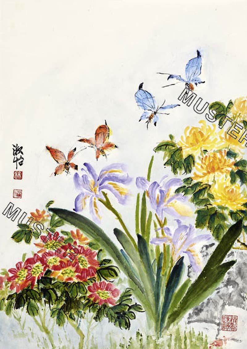 Fragrant butterfly