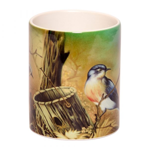 Coffee Mugs by Mouth and Foot Painting Artists