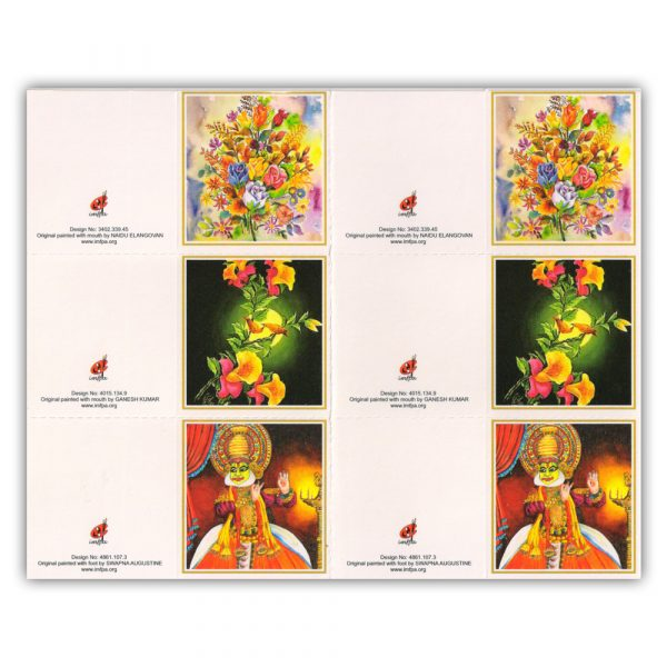 Buy Gift Tags by Mouth and Foot Painting Artists
