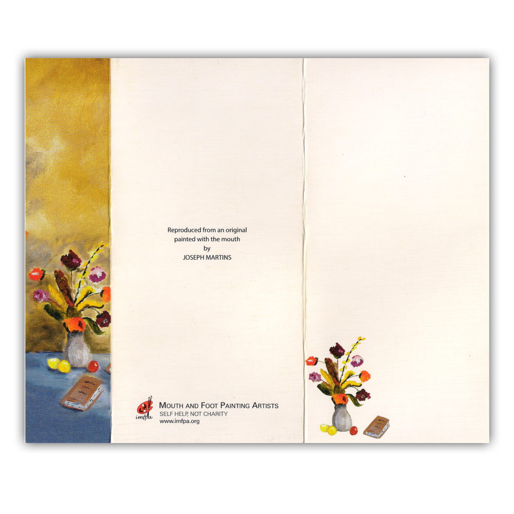 Note Cards by Mouth and Foot Painting Artists