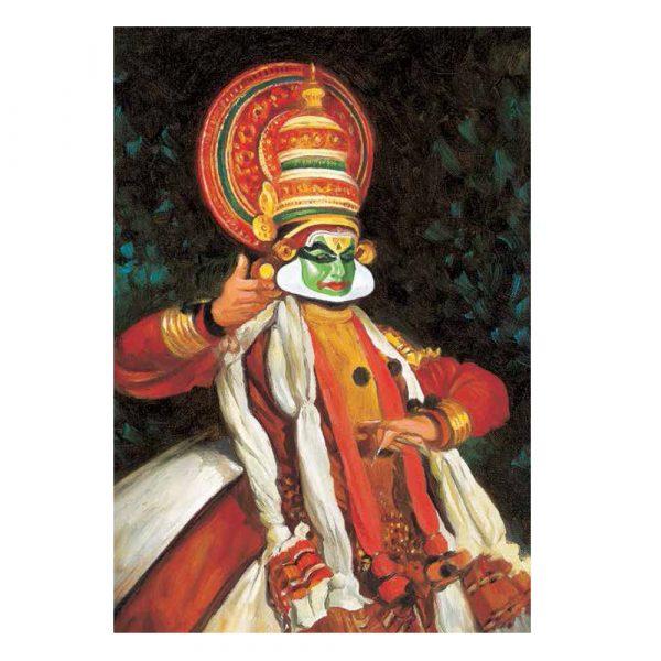 Kathakali Dancer – Postcard (Set of 5)