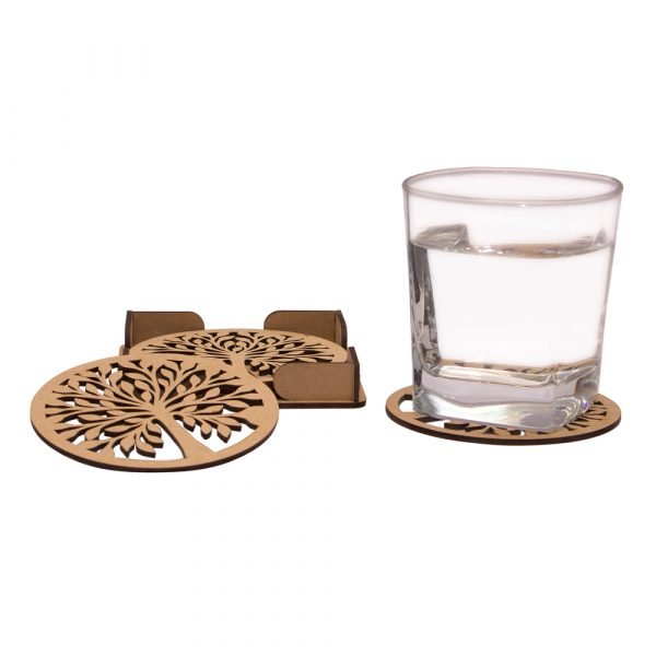 MDF Cutwork Coasters by MFPA