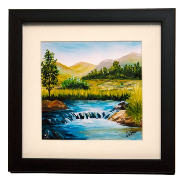 Buy Framed Desktop Paintings By MFPA