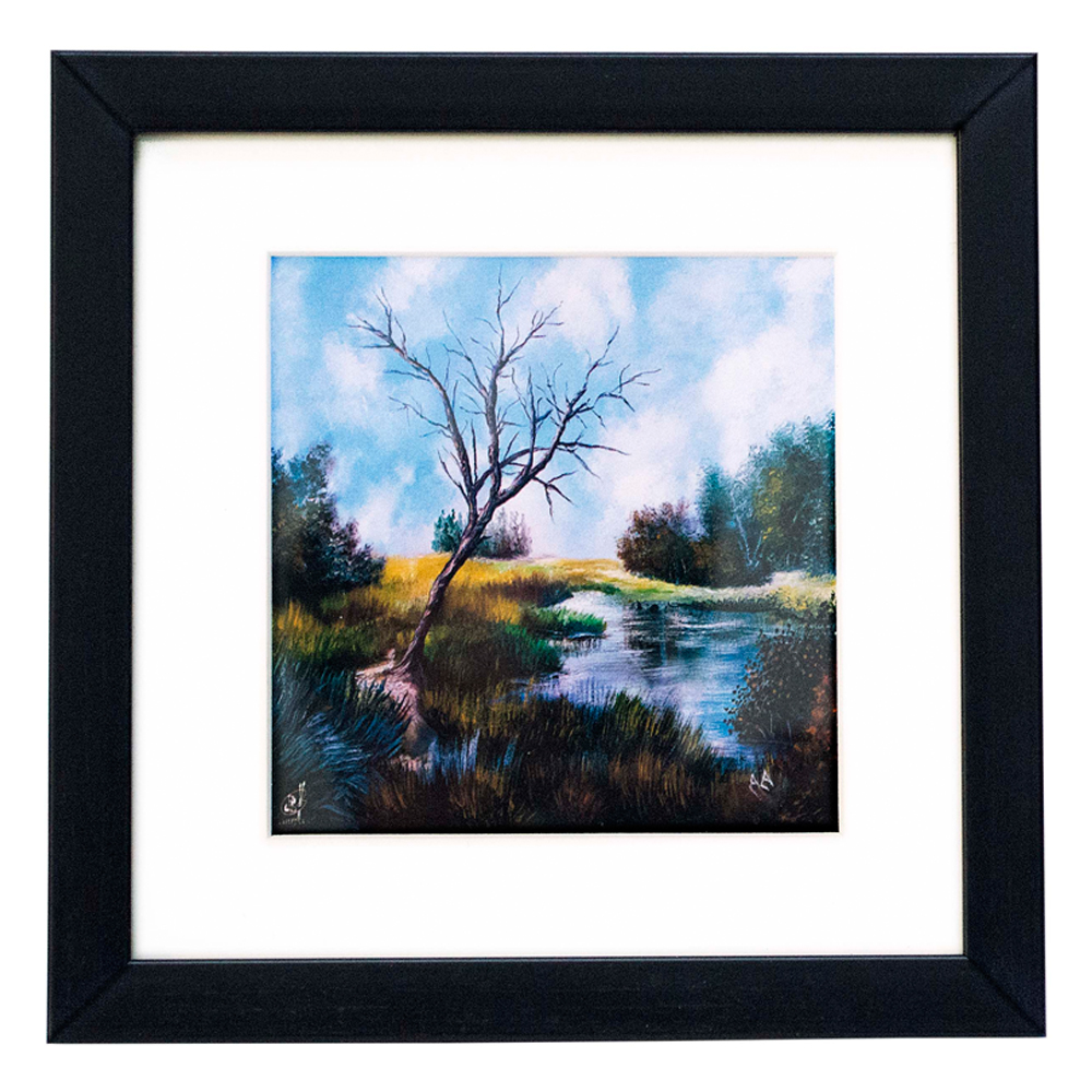 Gift Framed Desktop Paintings By MFPA