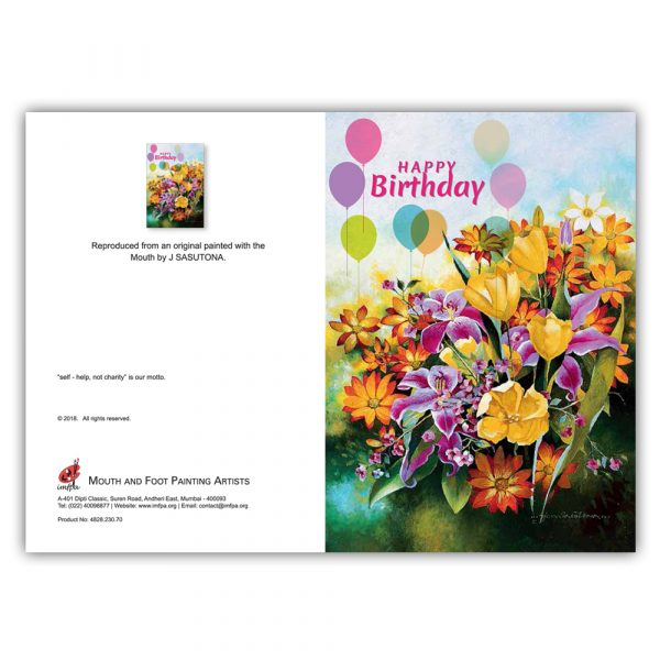 Gift With Birthday Cards by MFPA