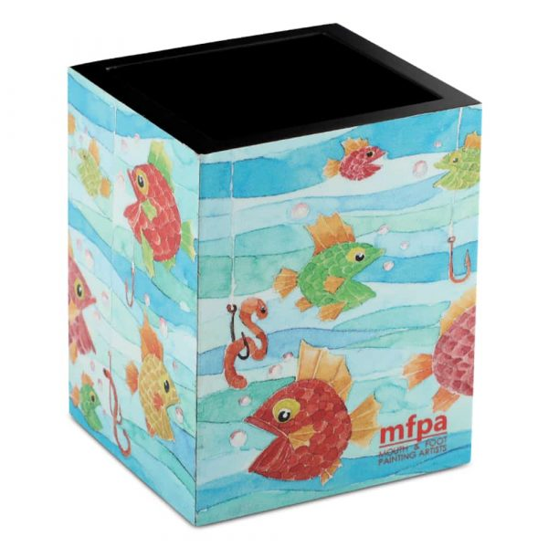Pen Stand – Fish