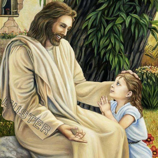 Jezus z dziewczynka