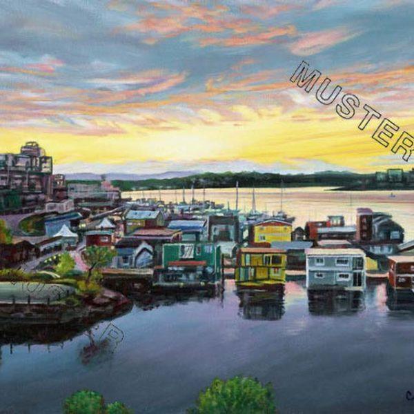 Fisherman's wharf sunset