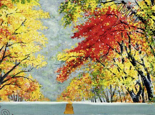 Trip to autumn