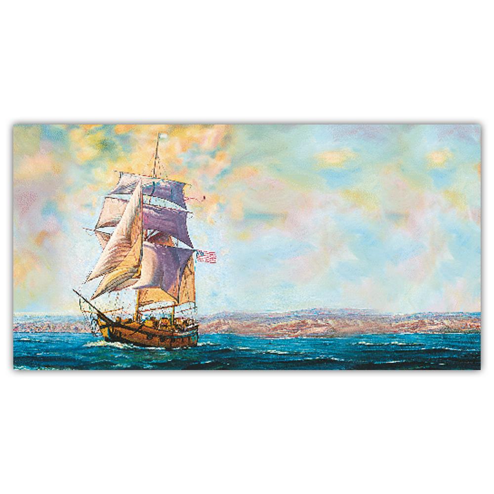 Allan's ship (Set of 5)