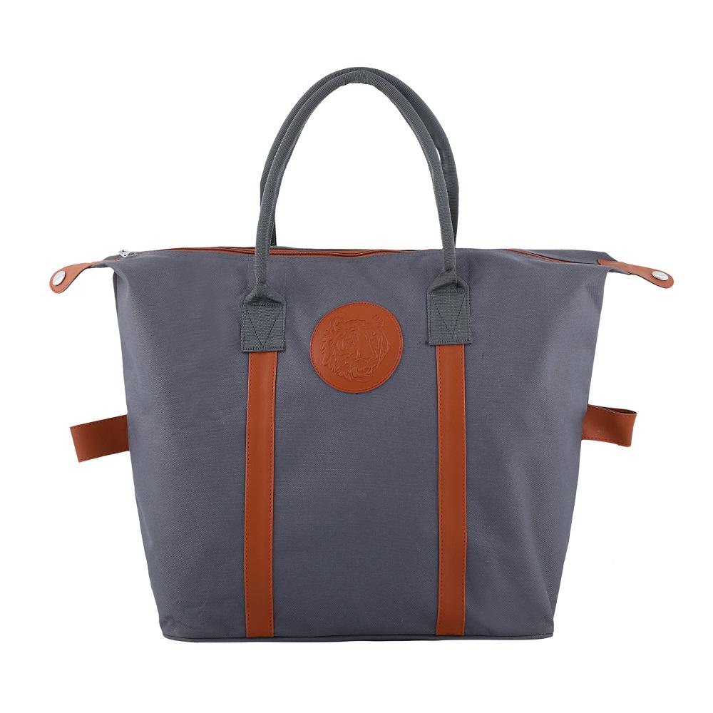 Embossed Shopping Bag – Space Grey