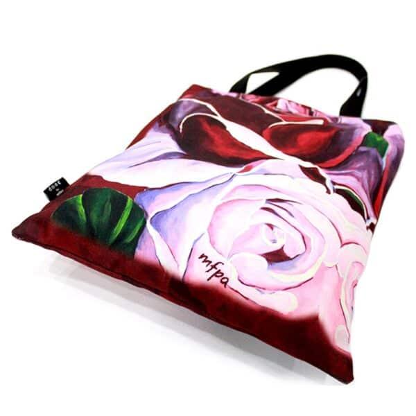 Shades of Roses Tote Bag