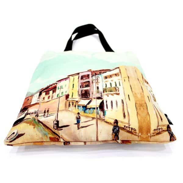Colonial City Tote Bag